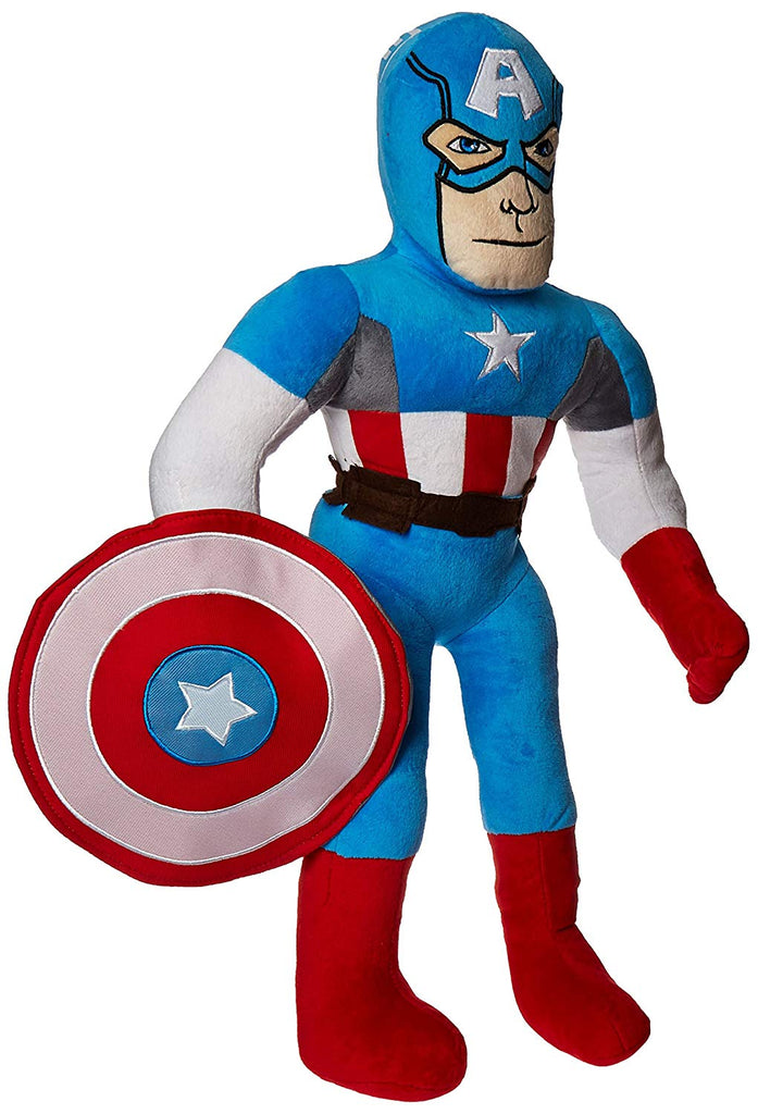 Jay Franco Marvel Comics Captain America Plush Pillow Buddy, C