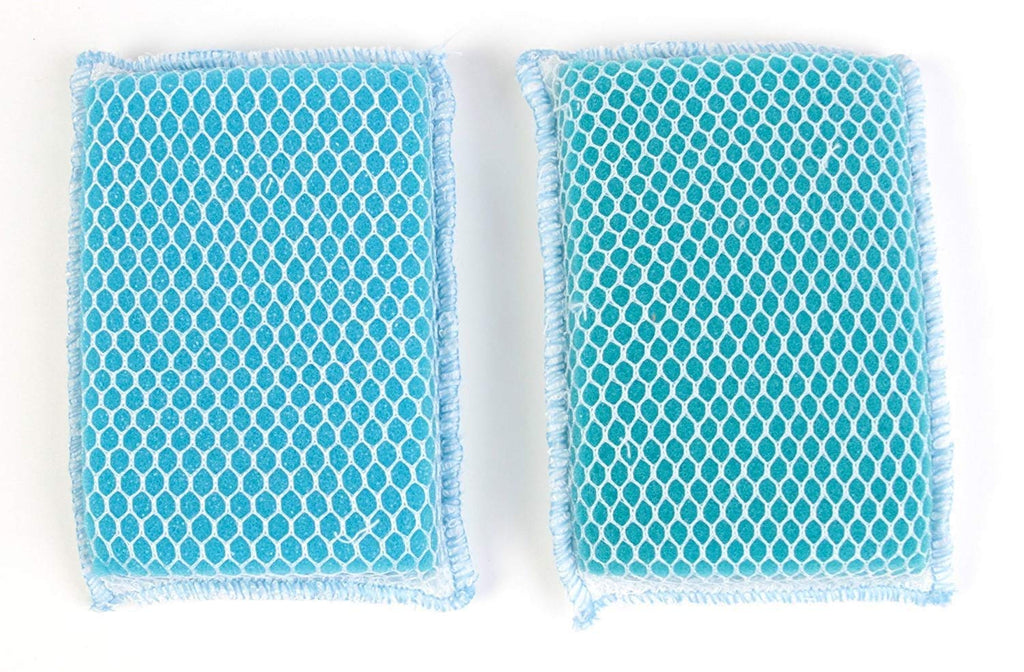 Butler Dawn Flip It Dual Sided Nylon Mesh and Cloth Kitchen Sponge, 12-pack (24 Sponges)