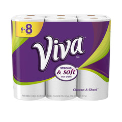 Viva Choose-A-Sheet, Paper Towels, 6 Big Plus Rolls