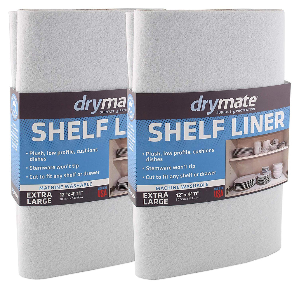 "Drymate XL Under The Sink Mat (24"" x 59""), Premium Shelf Liner, Easily Cut to Fit – Absorbent/Waterproof – Protects Cabinets,"