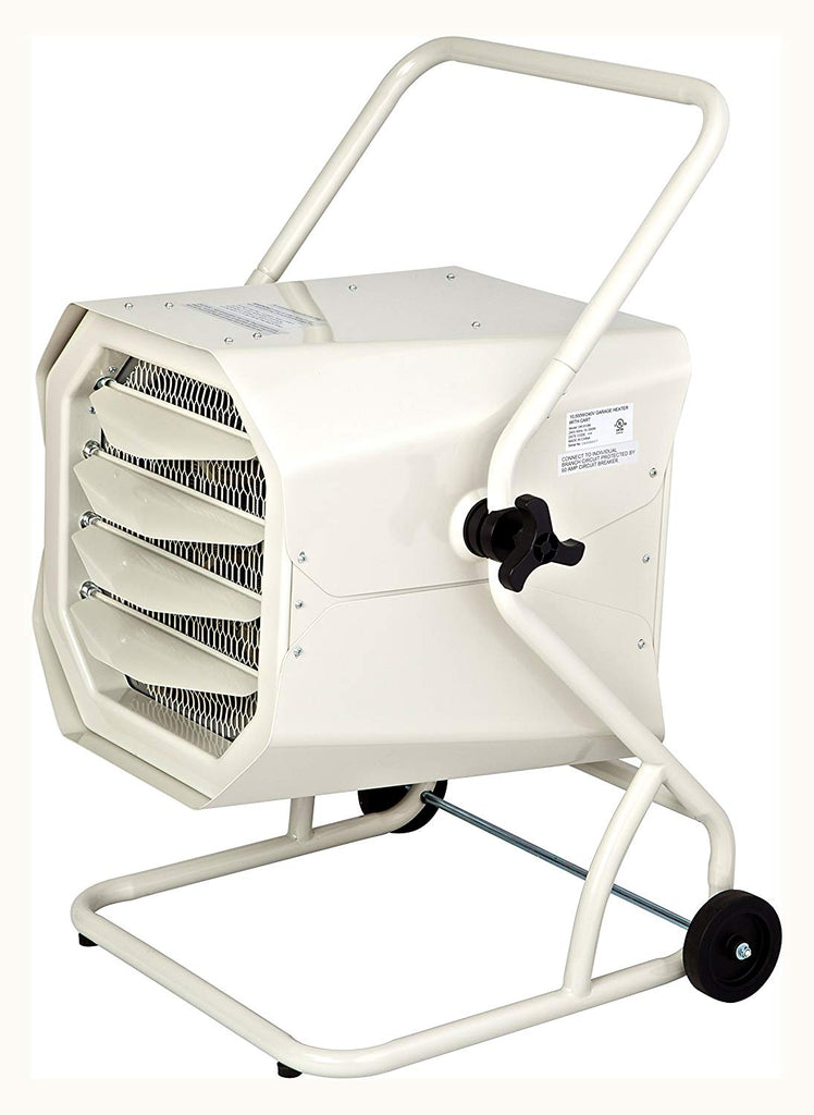 Dr Heater Dr. Infrared DR-910M 10000-Watt 240-Volt Heavy-Duty Hardwired Shop Garage Heater with Cart and Adjustable Thermostat