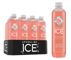 Sparkling Ice Cherry Limeade Sparkling Water, with Antioxidants and Vitamins, Zero Sugar, 17  Fl. Oz Bottles (Pack of 12)