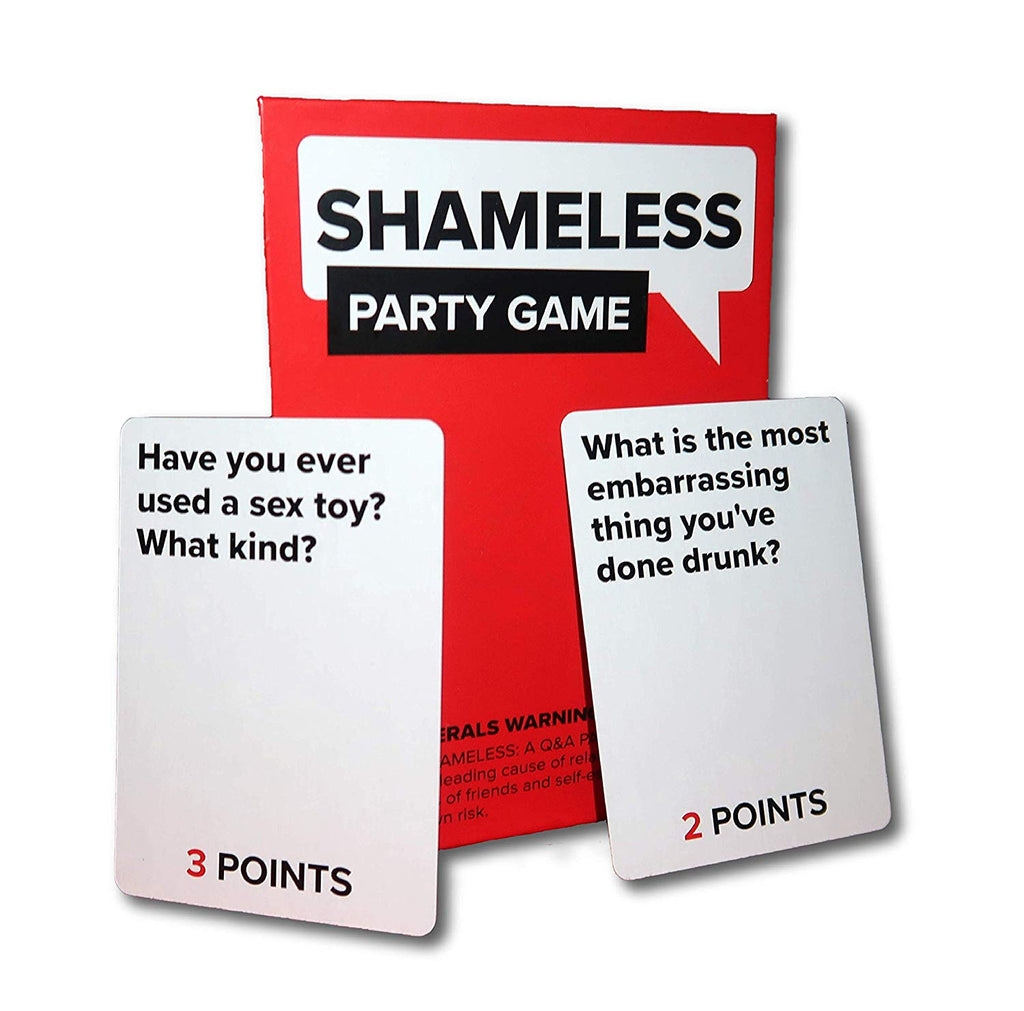 Shameless Party Game: Discover How Shameless Your Friends Are!