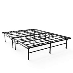 Zinus Demetric 14 Inch Elite SmartBase Mattress Foundation / for Big and Tall / Extra Strong Support / Platform Bed Frame / Box Spring Replacement / S