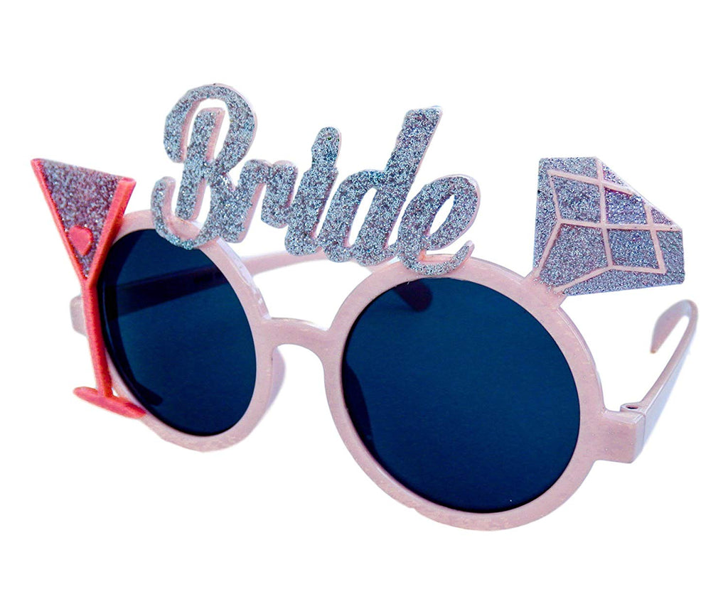 """Bride to Be"" Glasses – Bachelorette Party Favors - Bridal Shower Supplies - Wedding Shower Decorations"