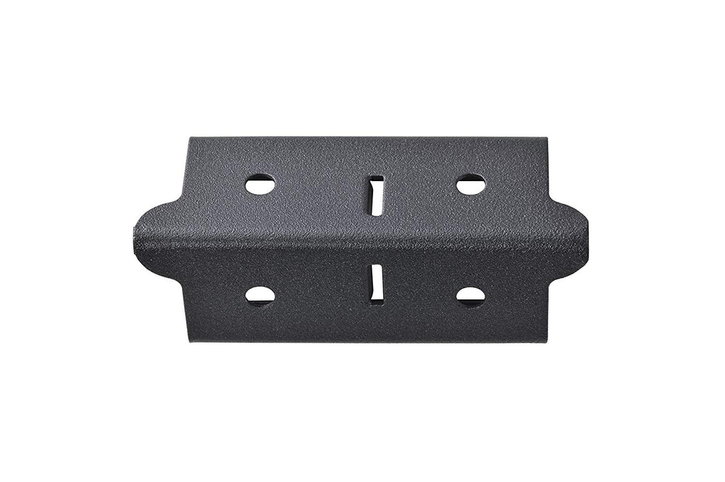 "Edsal CPOUT-BLK-4 Muscle Rack Post Coupling Outer Black (4 Pack), 3"" Height, 1.5"" Width, 1.5"" Length (Pack of 4)"