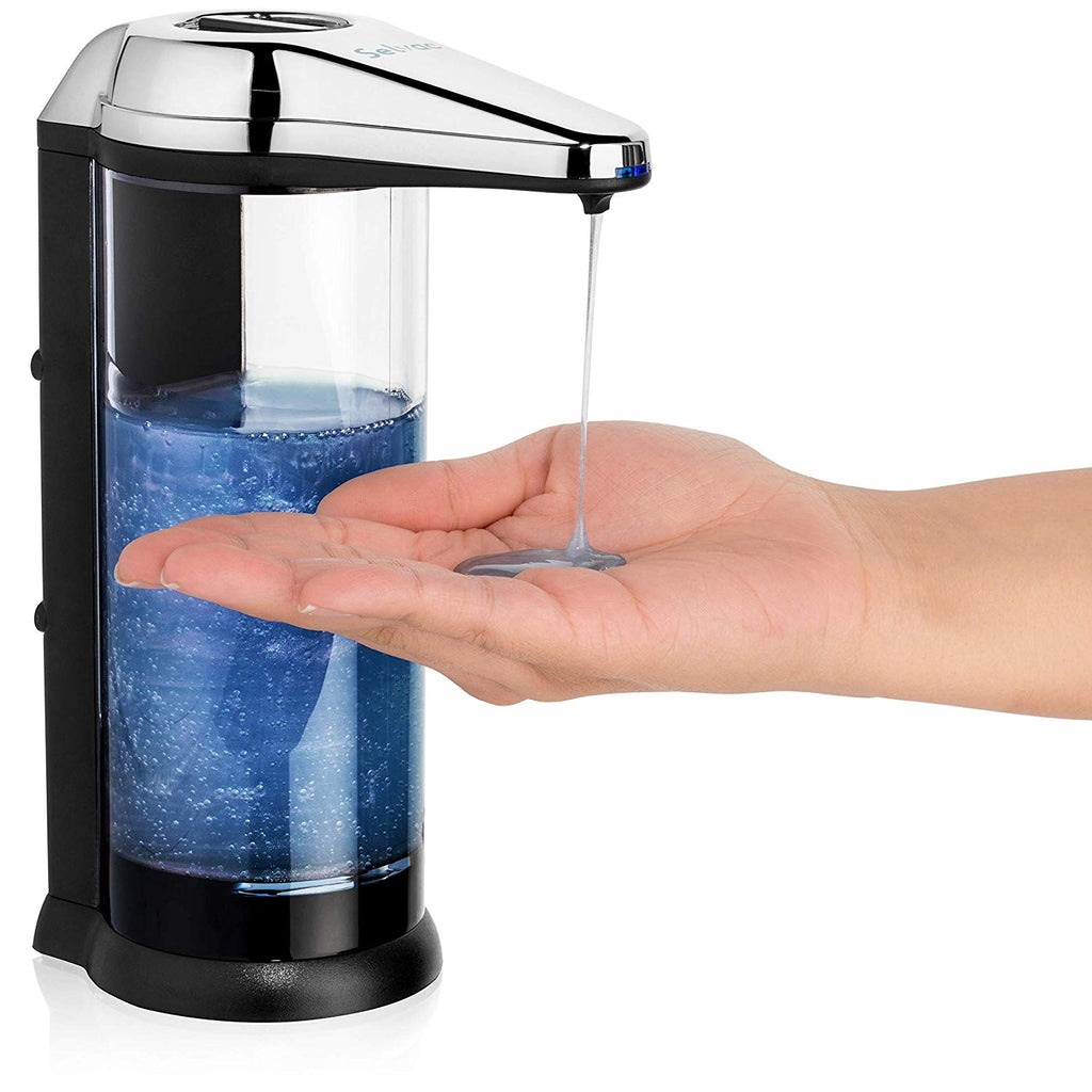 Touchless soap Dispenser - ANTI-LEAKAGE Soap Dispenser-Accurate Infrared Motion- Rusting Free- Enjoy Hands free Soap Dispenser for up To a Year before