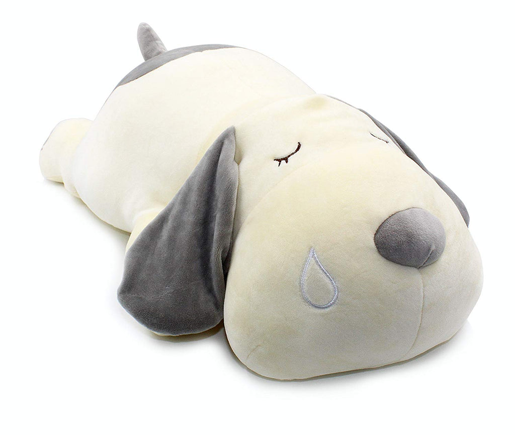Vintoys Very Soft Dog Big Hugging Pillow Plush Puppy Stuffed Animals Gray 23.5""