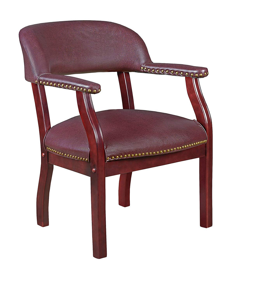 Regency 9004EG Ivy League Capain Chair Eggplant