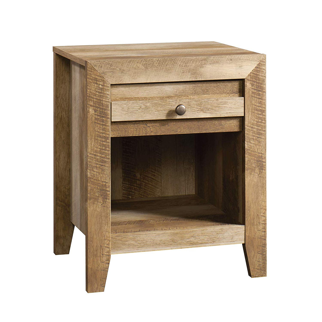 "Sauder 418176 Dakota Pass Night Stand, L: 20.32"" x W: 16.54"" x H: 24.45"", Craftsman Oak finish"