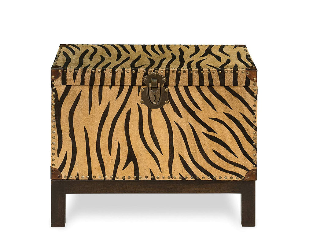 Sarreid 30448 Zebra Box on Stand