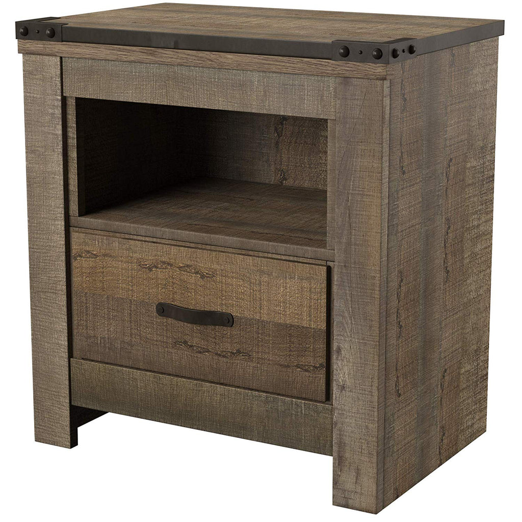 Ashley Furniture Signature Design - Trinell Nightstand - Brown