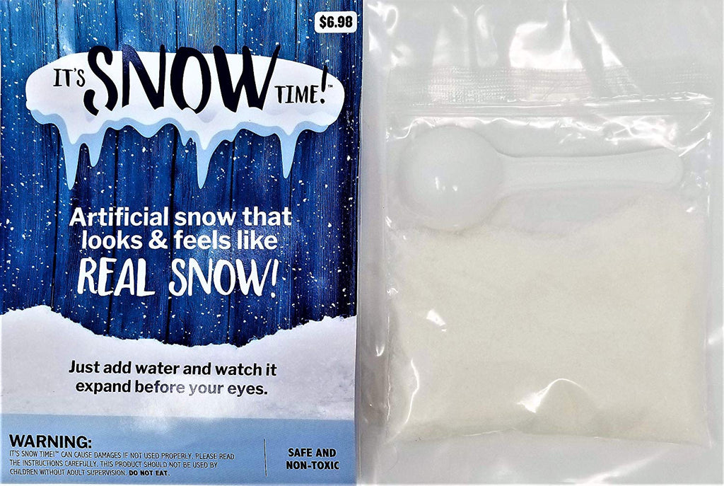 It's Snow Time! Artificial Snow