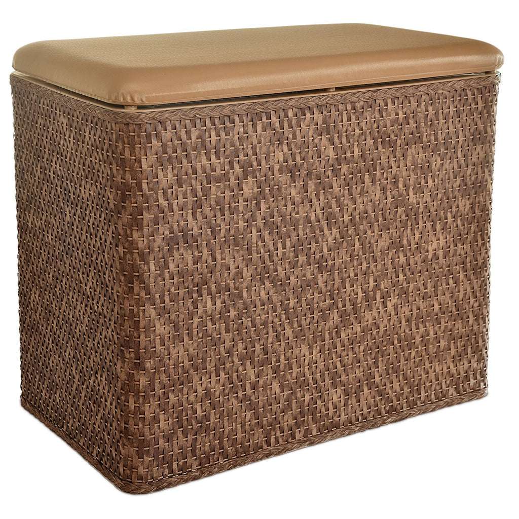 LaMont Home Carter Bench Hamper, Cappuccino