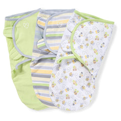 SwaddleMe Original Swaddle 3-PK, Newport Shores, Small