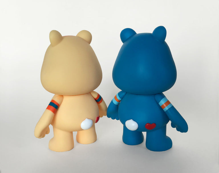 Julie West + Kidrobot + American Greetings Care Bear