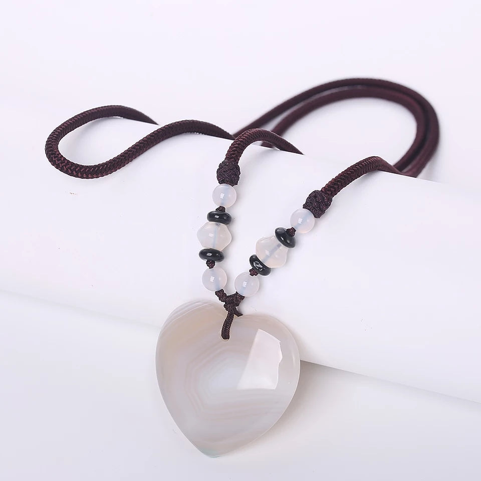 White Agate Heart Detox - Mala Beads Meditation Accessories and Yoga Jewelry by Tiny Devotions