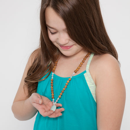 Confidence Kids Mala - Tiny Devotions Gemstone 108 Mala Beads Intentional Jewelry