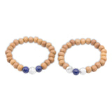 True Promise Bracelets - Tiny Devotions Gemstone 108 Mala Beads Intentional Jewelry