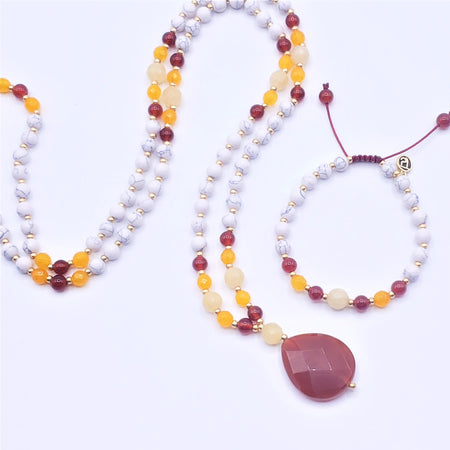 Connection Mala Beads - Mala Beads Meditation Accessories and Yoga Jewelryby Tiny Devotions
