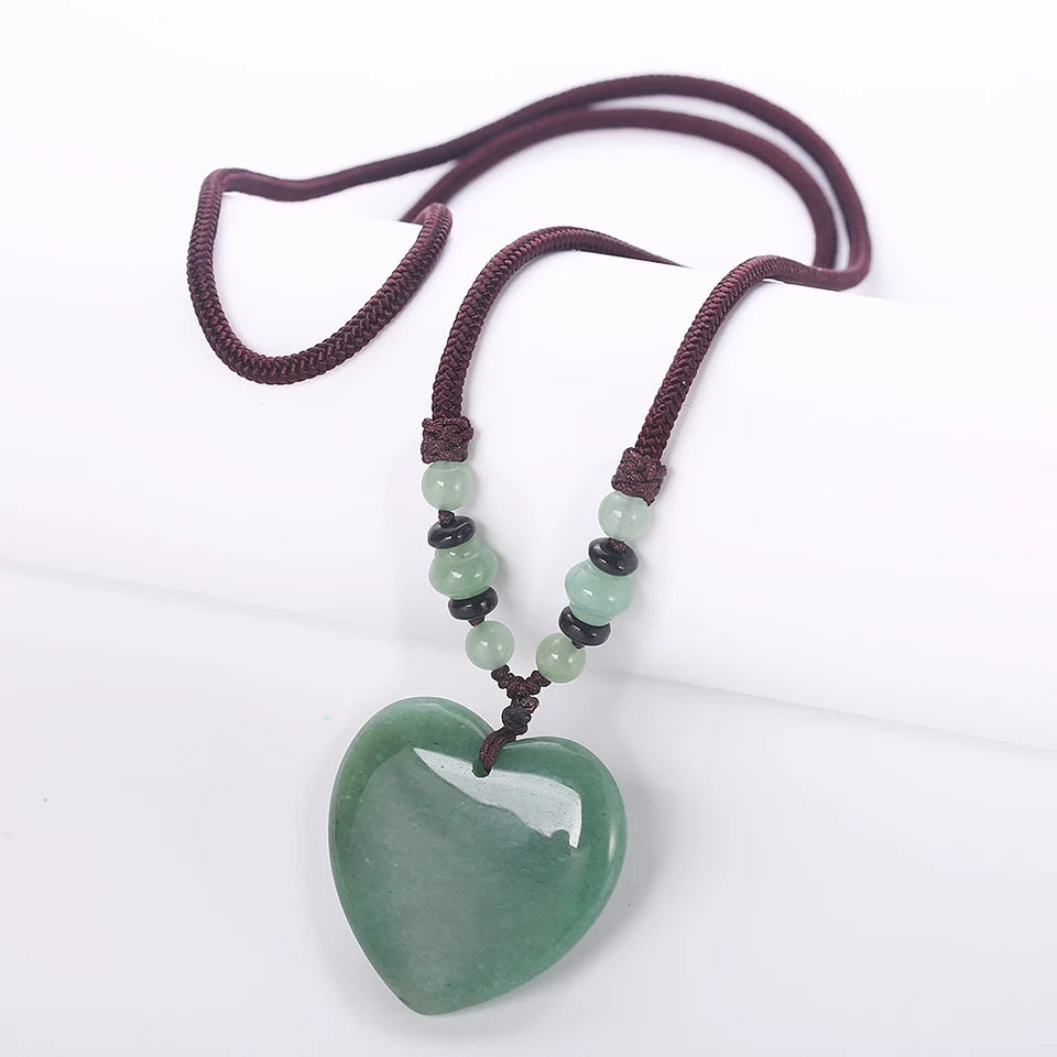 Green Jade Heart Detox - Tiny Devotions Gemstone 108 Mala Beads Intentional Jewelry