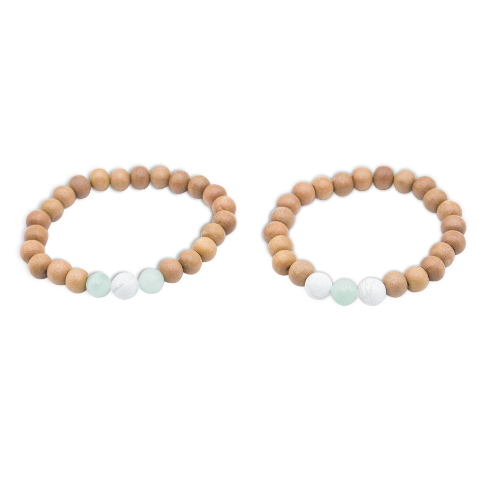 Commitment Promise Bracelets - Tiny Devotions Gemstone 108 Mala Beads Intentional Jewelry