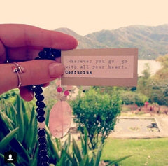 Let Love In Mala by Tiny Devotions