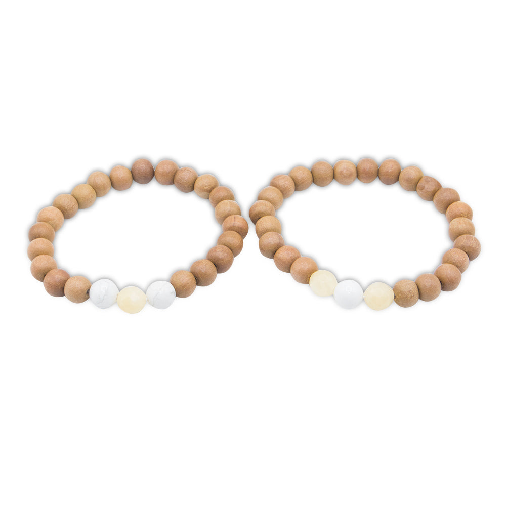 Cherish Promise Bracelets - Mala Beads Meditation Accessories and Yoga Jewelry by Tiny Devotions