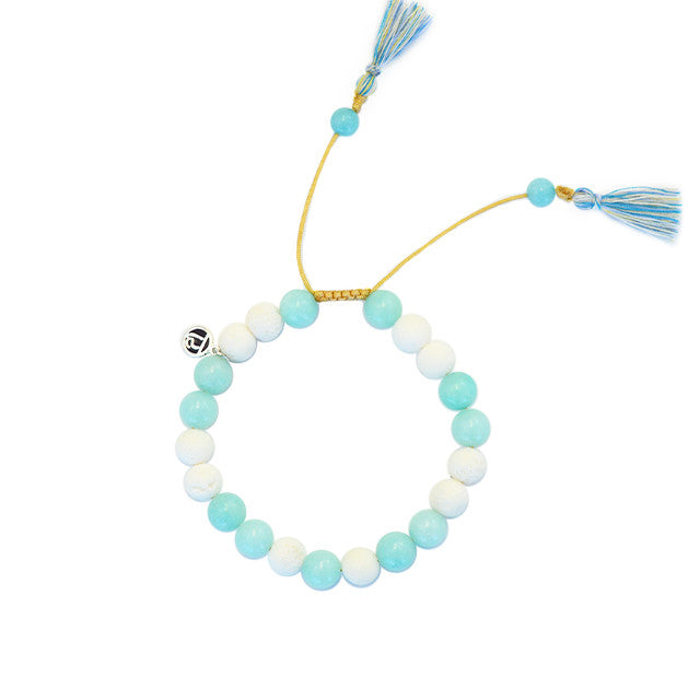 Calm Diffuser Bracelet - Tiny Devotions Gemstone 108 Mala Beads Intentional Jewelry