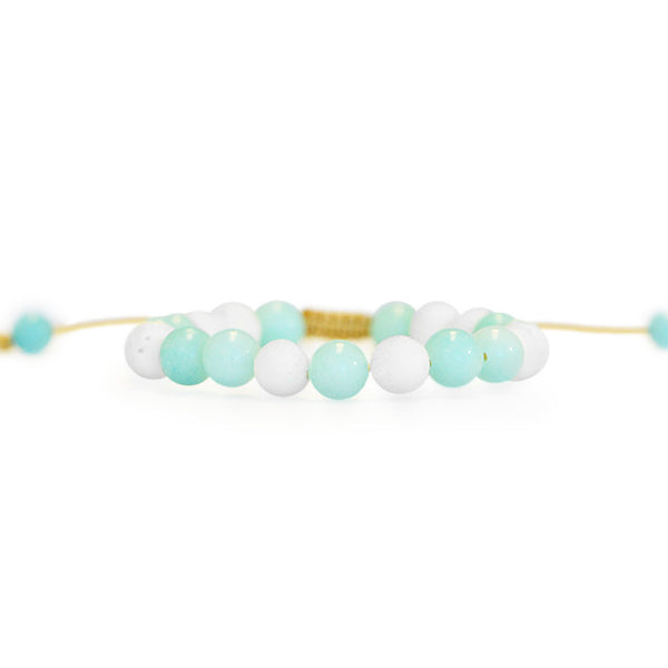 Calm Diffuser Bracelet - Mala Beads Meditation Accessories and Yoga Jewelryby Tiny Devotions