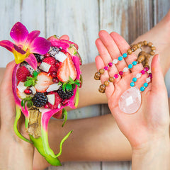 Heart Chakra Mala by Tiny Devotions