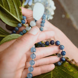 Discover Mala Necklace - Tiny Devotions Gemstone 108 Mala Beads Intentional Jewelry