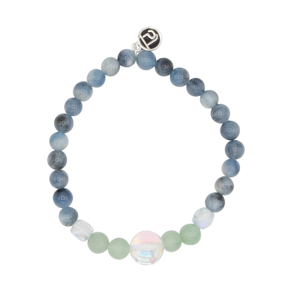 Tranquility Kids Bracelet - Tiny Devotions Gemstone 108 Mala Beads Intentional Jewelry