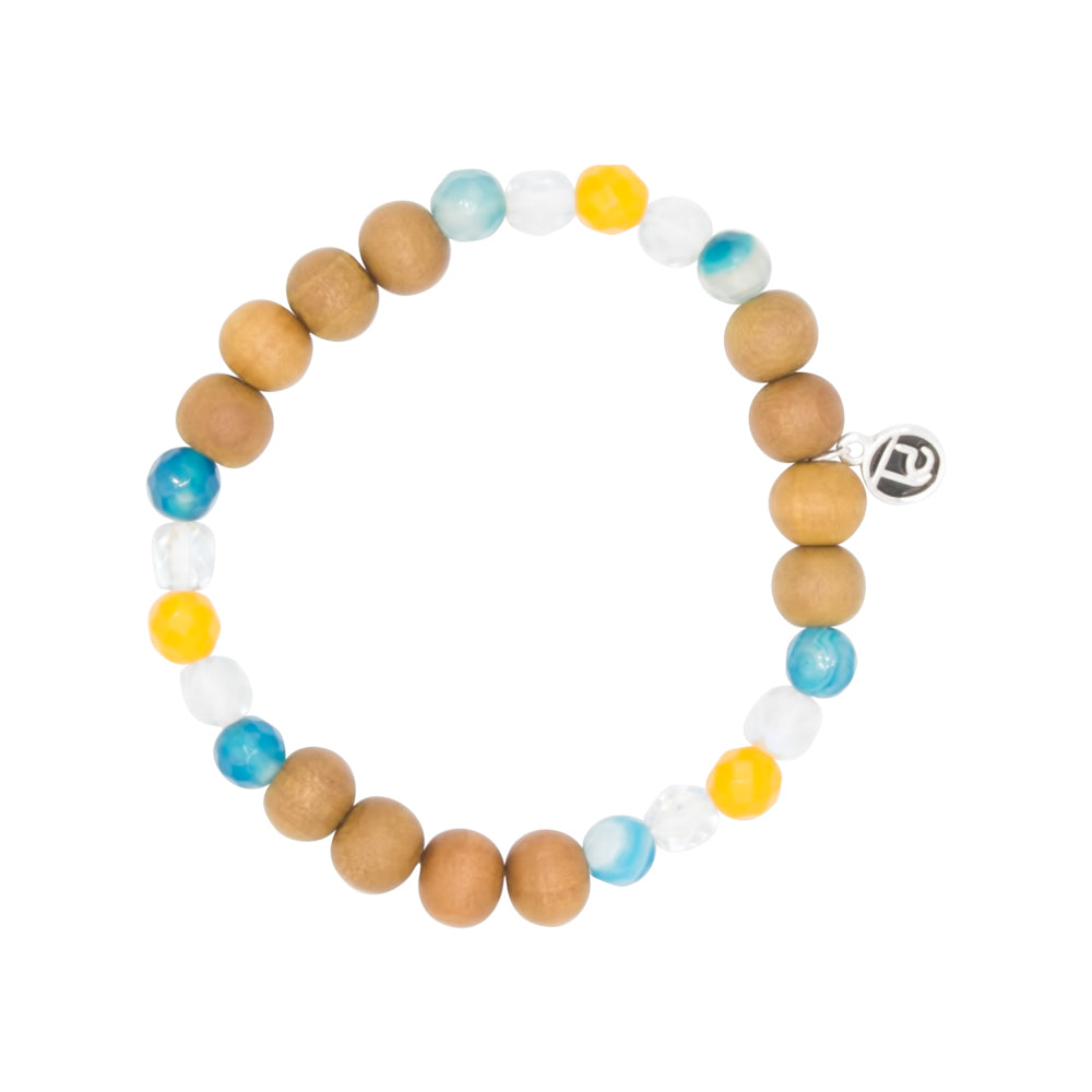 Positivity Kids Bracelet - Tiny Devotions Gemstone 108 Mala Beads Intentional Jewelry