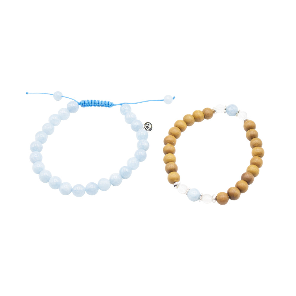 Renewal Stack - Tiny Devotions Gemstone 108 Mala Beads Intentional Jewelry