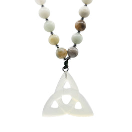 Faith Mala - Tiny Devotions Gemstone 108 Mala Beads Intentional Jewelry
