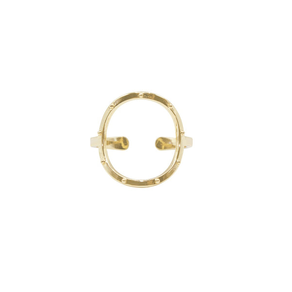Infinite Meditation Ring - Gold