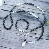 Kismet Mala Bead Necklace - Mala Beads Meditation Accessories and Yoga Jewelryby Tiny Devotions