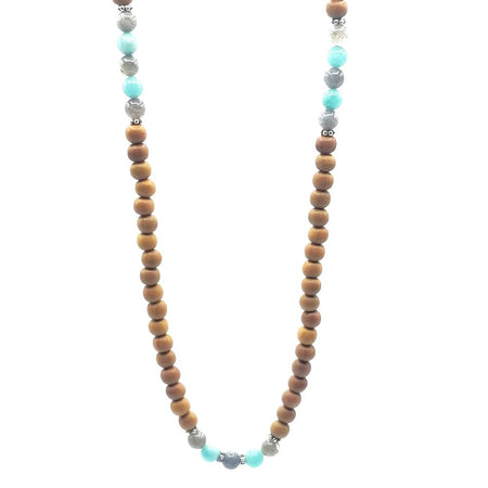 Awakening Mala Necklace - Tiny Devotions Gemstone 108 Mala Beads Intentional Jewelry