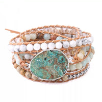 Reflection Wrap Mala Bracelet