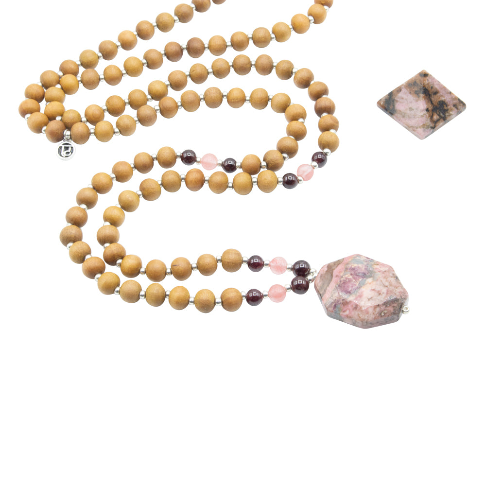 Passion Mala - Tiny Devotions Gemstone 108 Mala Beads Intentional Jewelry