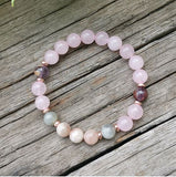 Over The Moon Mala Bead Bracelet - Mala Beads Meditation Accessories and Yoga Jewelryby Tiny Devotions