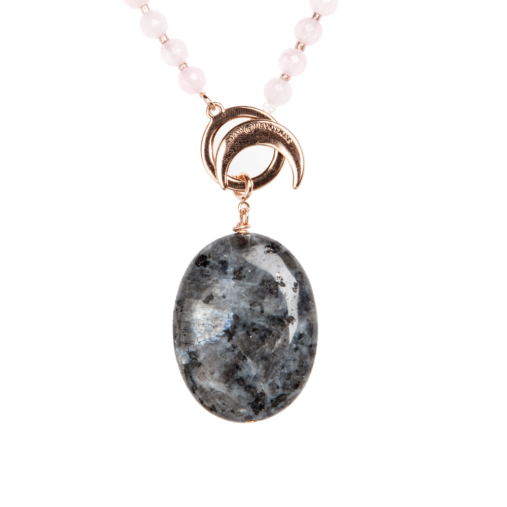 Labradorite Intuition Amplifier - Rose Gold by Tiny Devotions