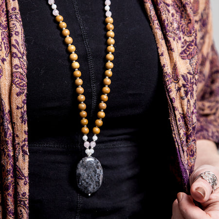 High Priestess Mala - Mala Beads Meditation Accessories and Yoga Jewelryby Tiny Devotions