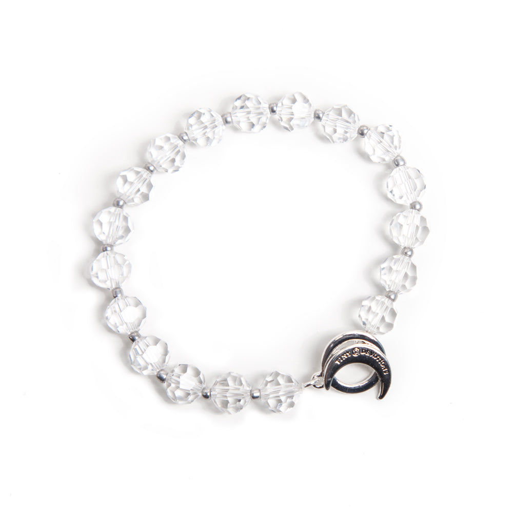 Clear Quartz Limitless Bracelet by Tiny Devotions