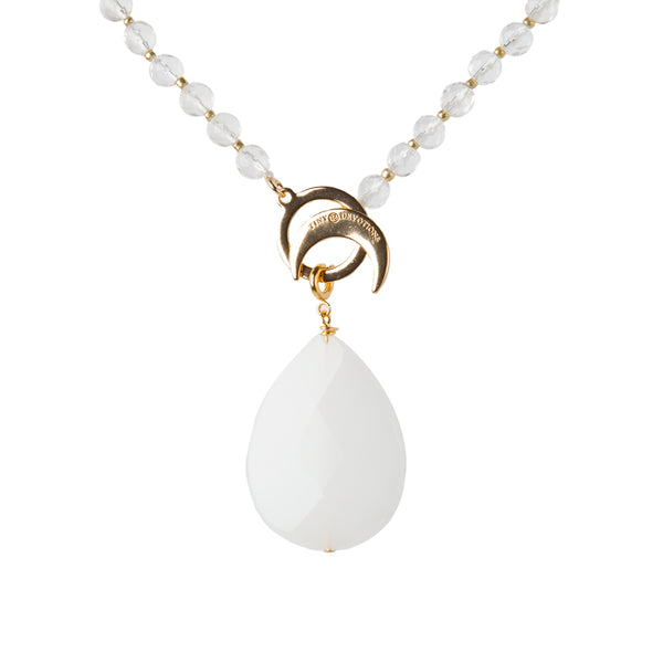 White Jade Highest Potential Amplifier - Gold by Tiny Devotions