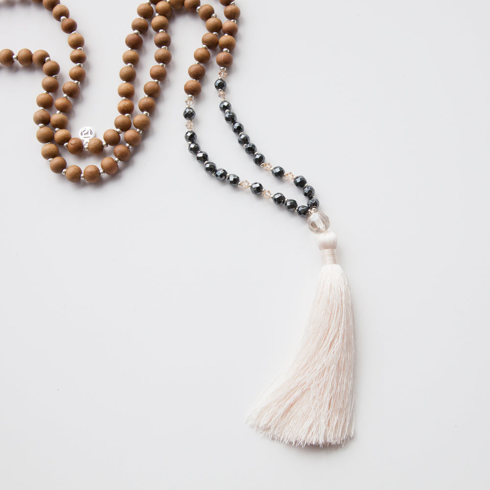 Abundance Mala - Tiny Devotions Gemstone 108 Mala Beads Intentional Jewelry