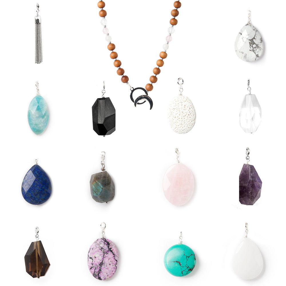 Limitless Love Mala - Tiny Devotions Gemstone 108 Mala Beads Intentional Jewelry
