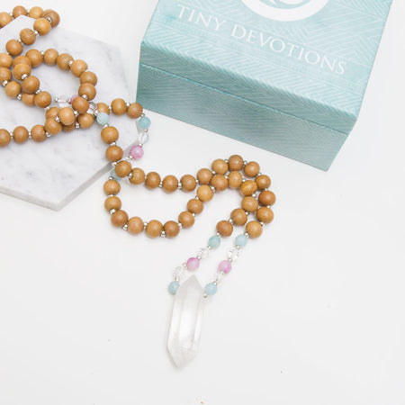 Ocean Master Healer Mala - Mala Beads Meditation Accessories and Yoga Jewelryby Tiny Devotions