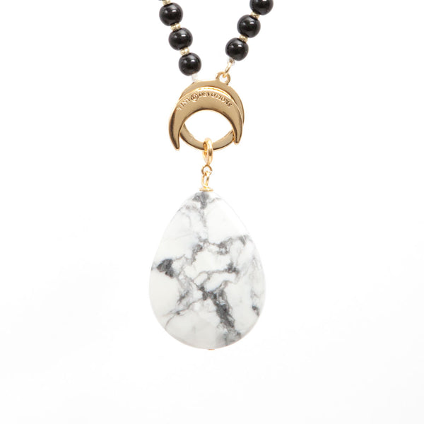 Howlite Wisdom Amplifier - Gold